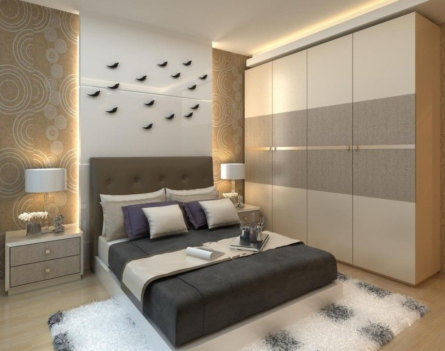 Getting Proper Wardrobe Design To Make One On Your Bedroom : Entrancing Wall  Wardrobe Design Ideas