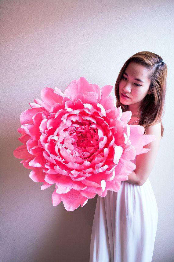 comment créer une fleur en papier crépon - astuces et photos