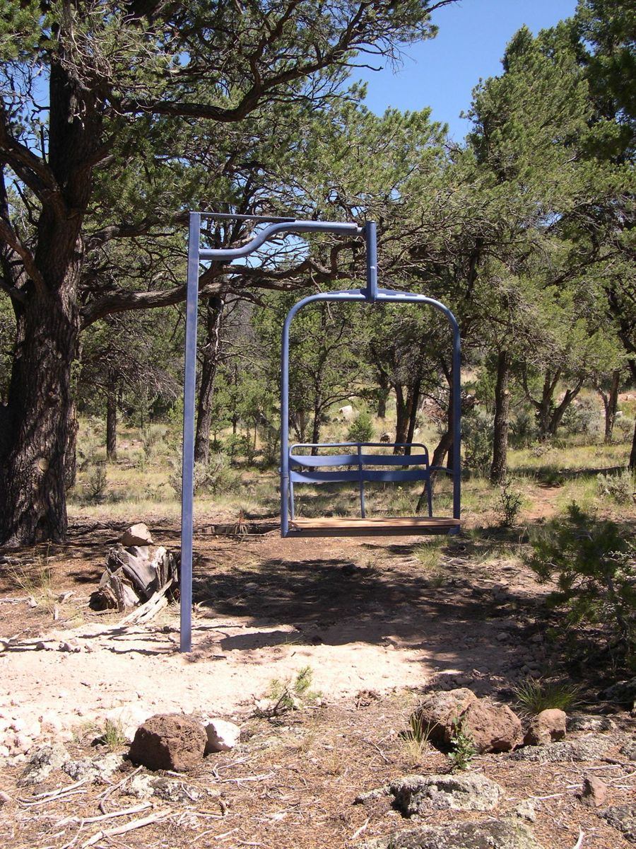 How to ideas for chair lift swing  Outdoor ideas  Ski