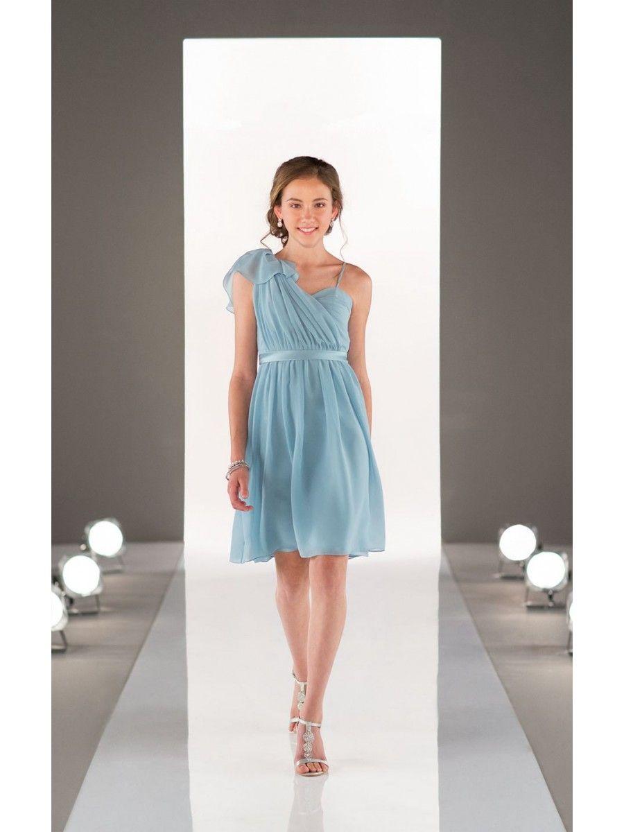 Chiffon spaghetti straps short junior bridesmaid dresses 3303009 chiffon spaghetti straps short junior bridesmaid dresses 3303009 ombrellifo Images