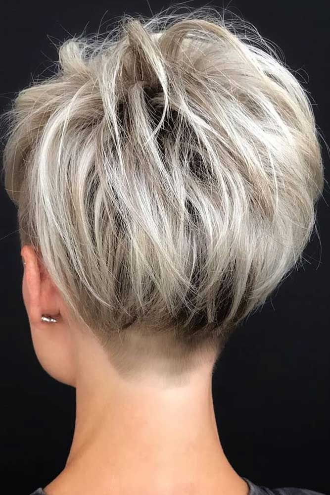 30 Ideas Of Wearing Short Layered Hair For Women #shorthaircutsforwomen