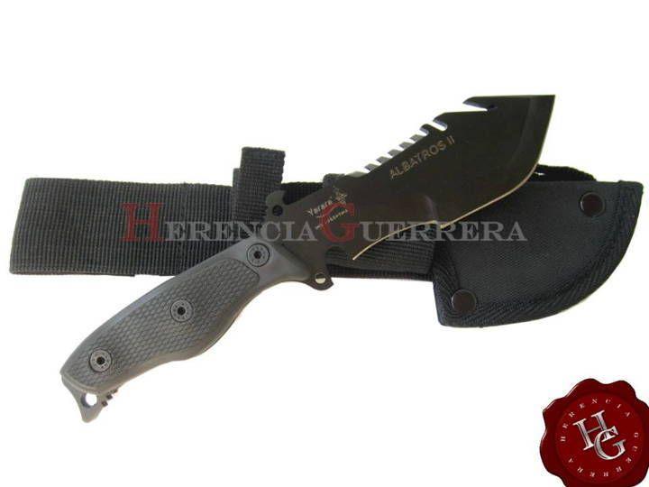 Cuchillo Yarara Albatros Ii Cuchillos Tacticos Cuchillos Cuchillos De Combate