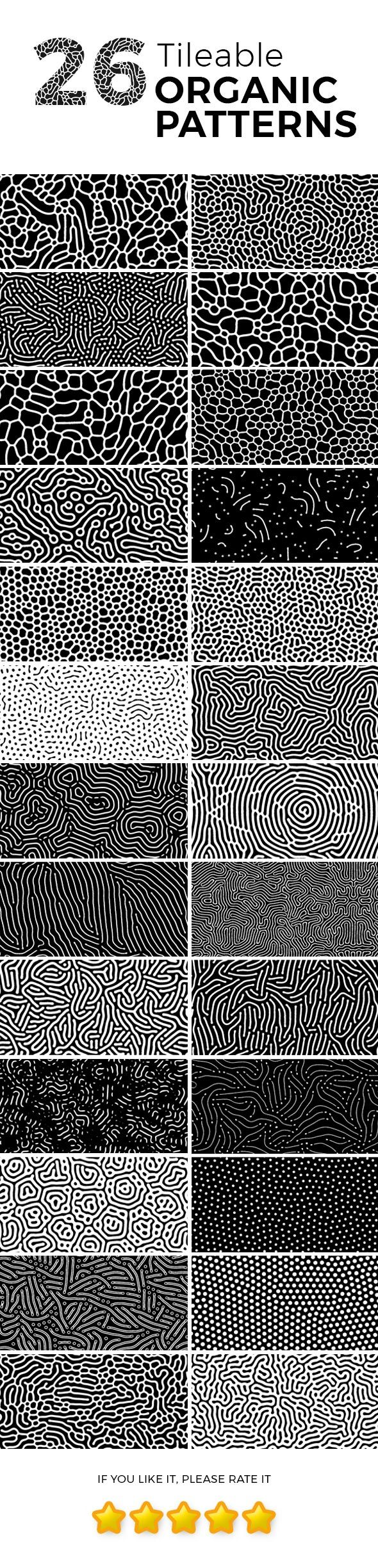 26 Tileable Organic Patterns | texture in 2019 | Pattern