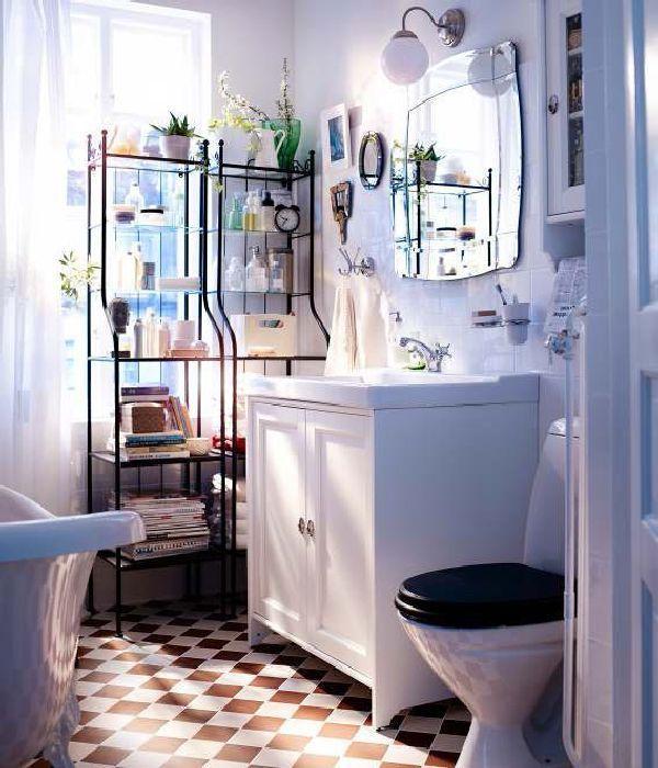 Wunderbare Kleine Badezimmer Storage Ideen IKEA Mehr auf unserer - kleine badezimmer design