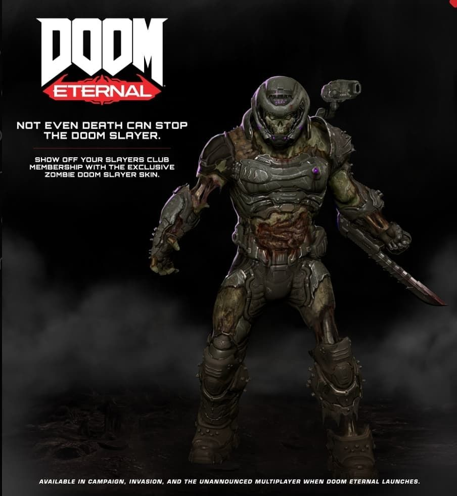 Doom Community On Instagram If You Sign Up To Join The Slayers