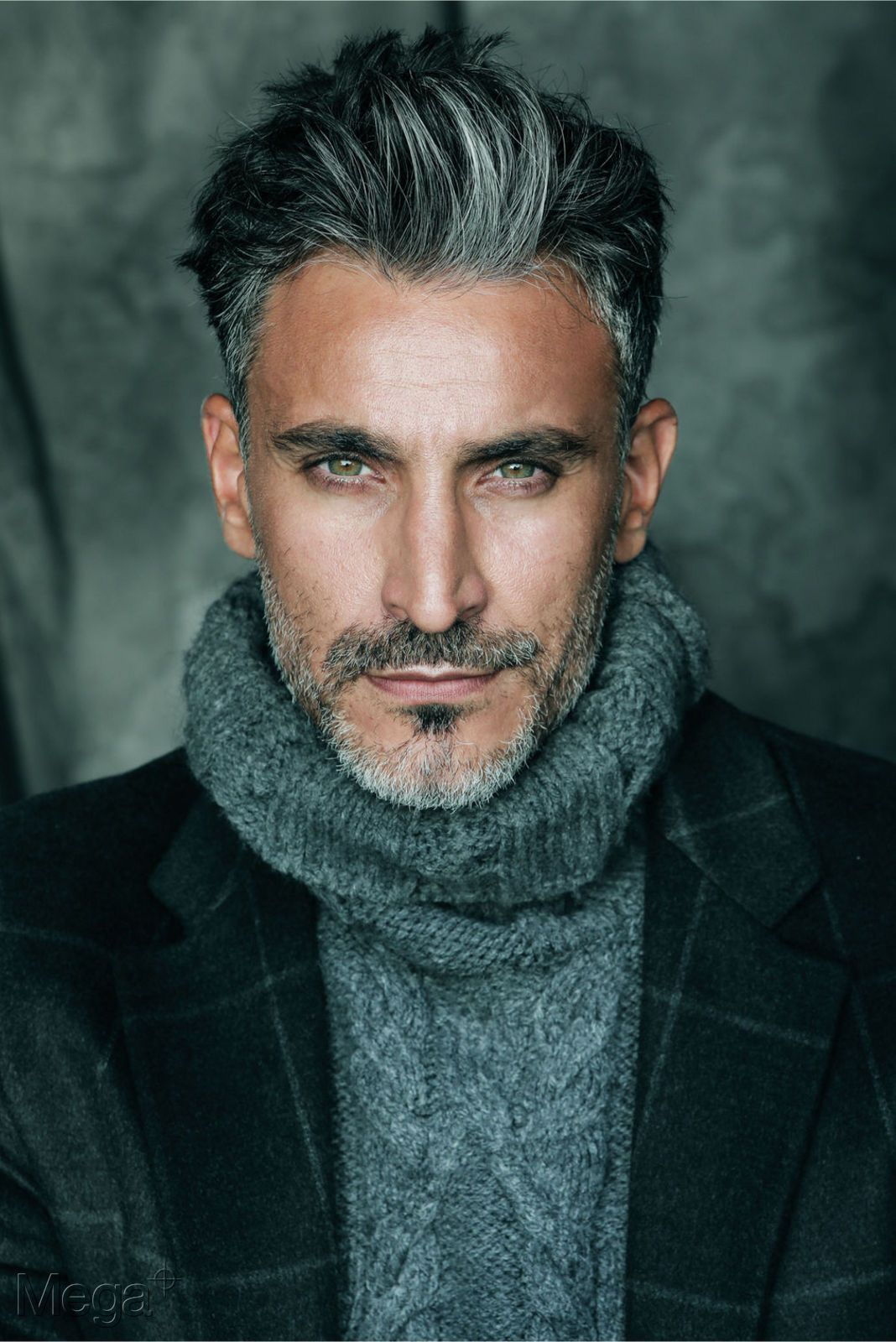 Diego Boronat Mega Model Agency Grey Hair Men Mens Hairstyles