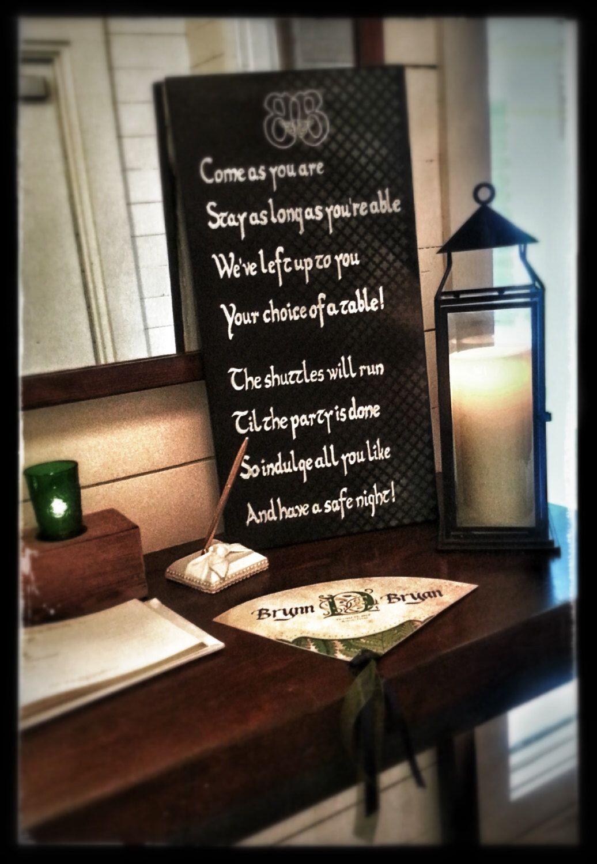 Custom Chalkboard Wedding Sign By Kaartisticevents On Etsy Https Www
