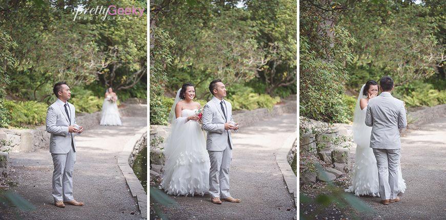 Crystal Springs Rhododendron Garden Wedding