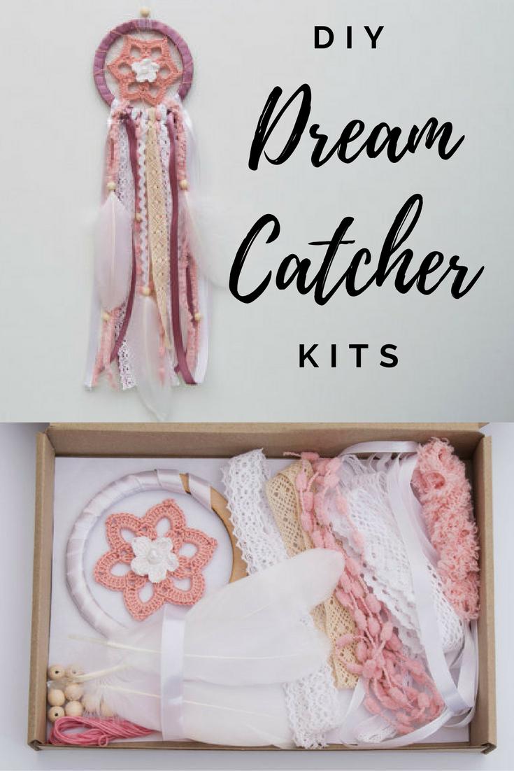 DIY dream catcher kits do it yourself Own unique home decor Handmade ...