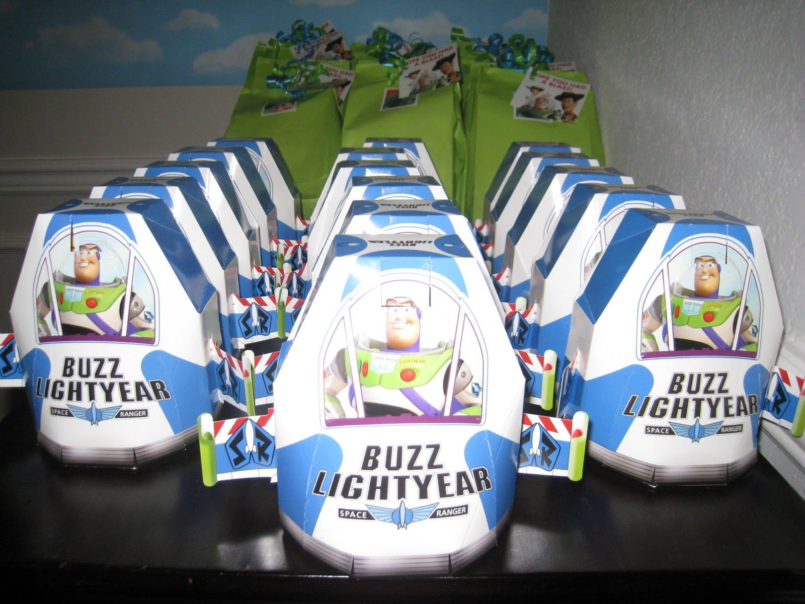 Buzz party favors gabes bday pinterest toy story party and buzz lightyear pronofoot35fo Gallery