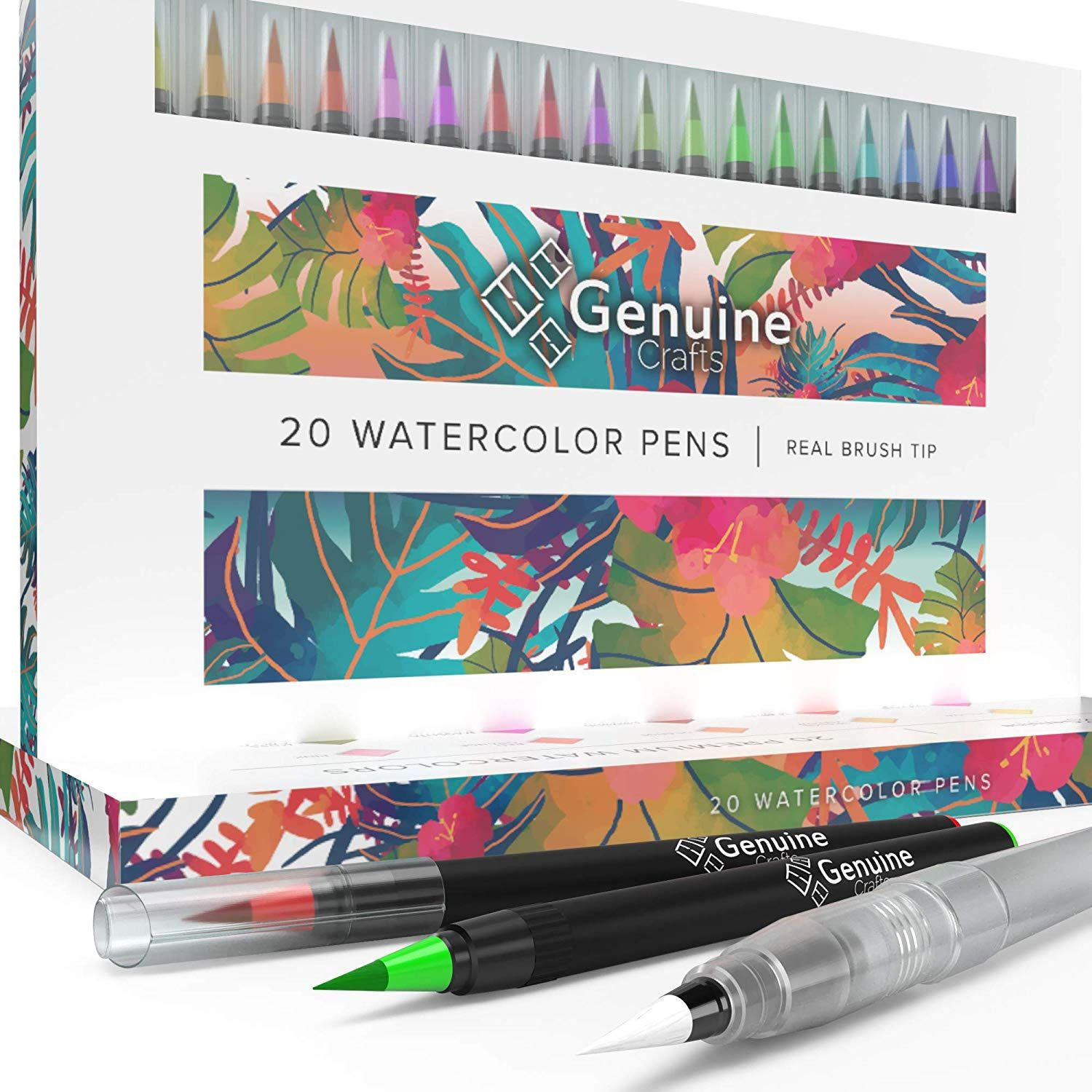 Set Of 20 Watercolor Brush Pens Only 15 20 Reg 30 Watercolor