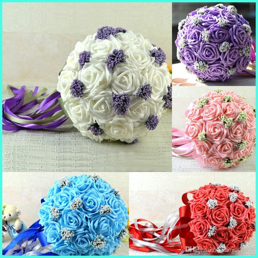 Cheap Wholesale Wedding Flowers New Wedding Bouquet Hand Made