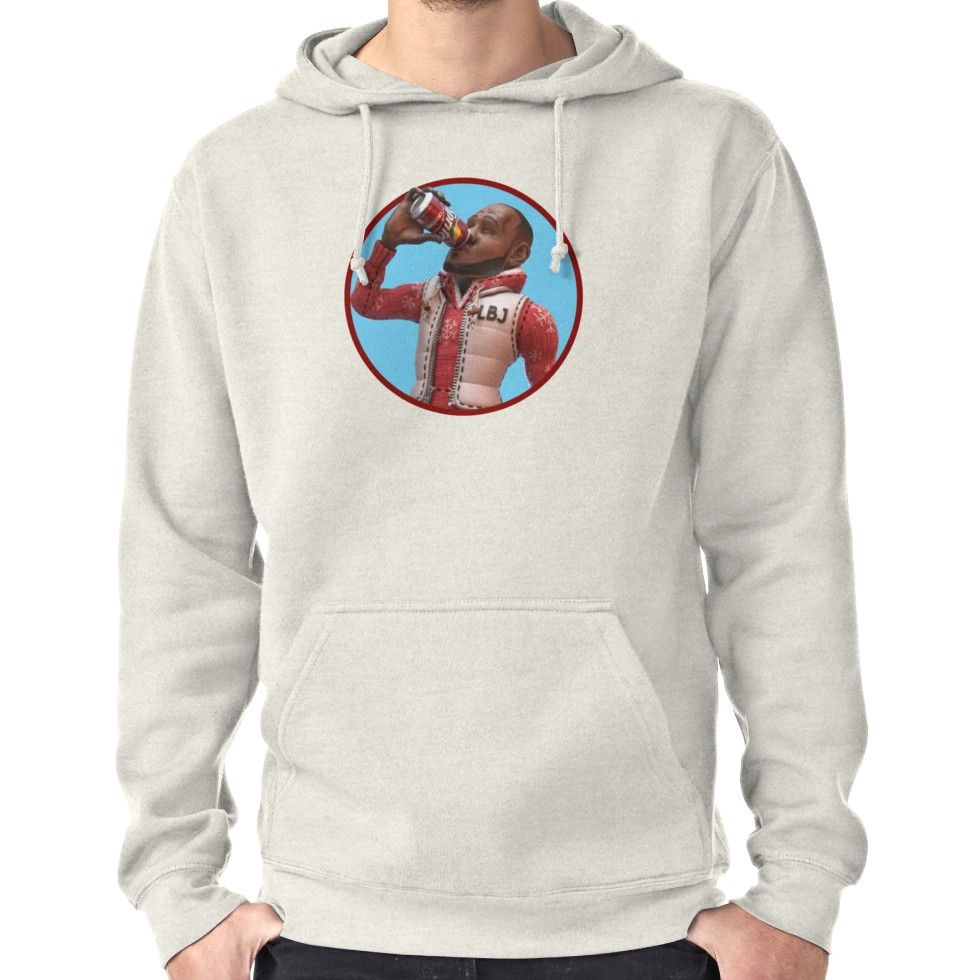 b44021a2997 LeBron James - Cranberry Sprite Meme Hoodie (Pullover) Lebron James