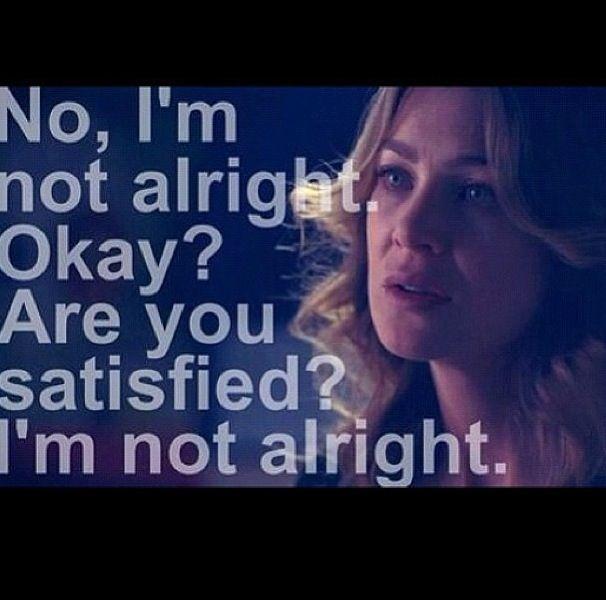 Meredith Grey | Grey\'s Anatomy | Pinterest | Crear y Frases