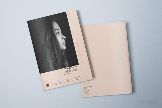 Editorial Psd Portfolio  Magazine  Lookbook Template For