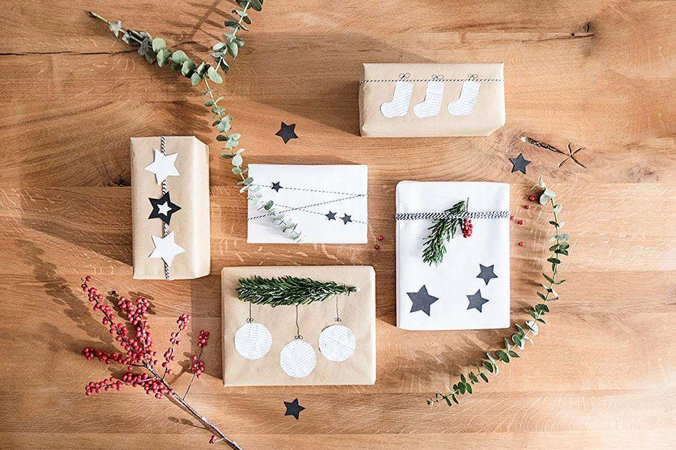 1e5dec6768eeb Detalles originales para decorar los paquetes de regalo en Navidad ...
