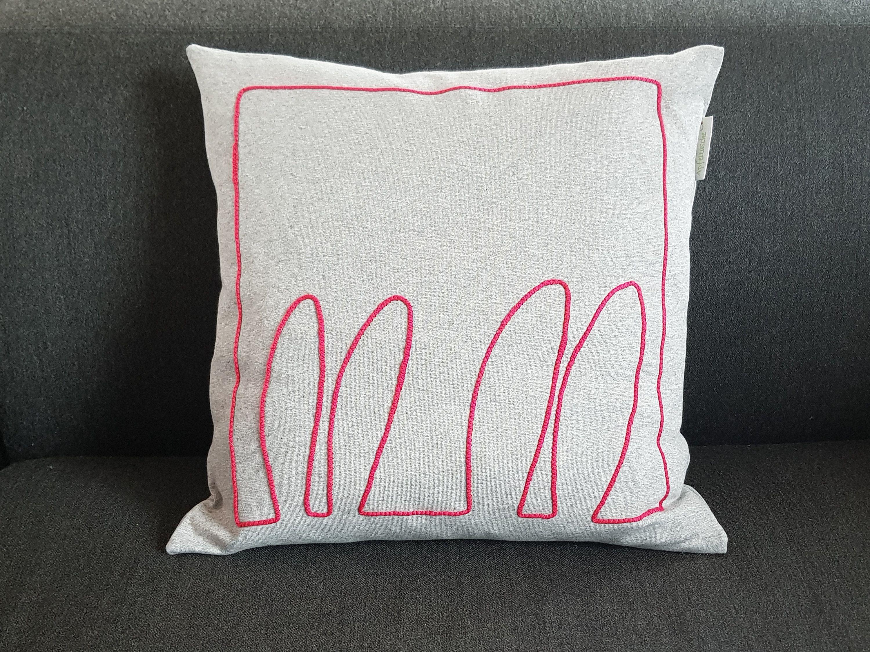 Kissenbezug Hasenohren Von Dieapfeltasche Auf Etsy Throw Pillows Pillows