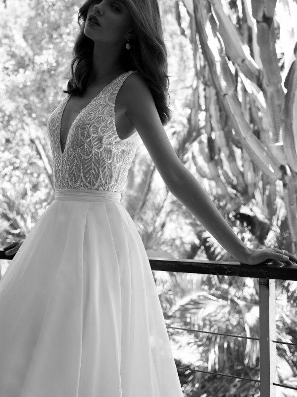 76603f1545 Martha Flora Wedding Bridal Gown Chicago Mira Couture
