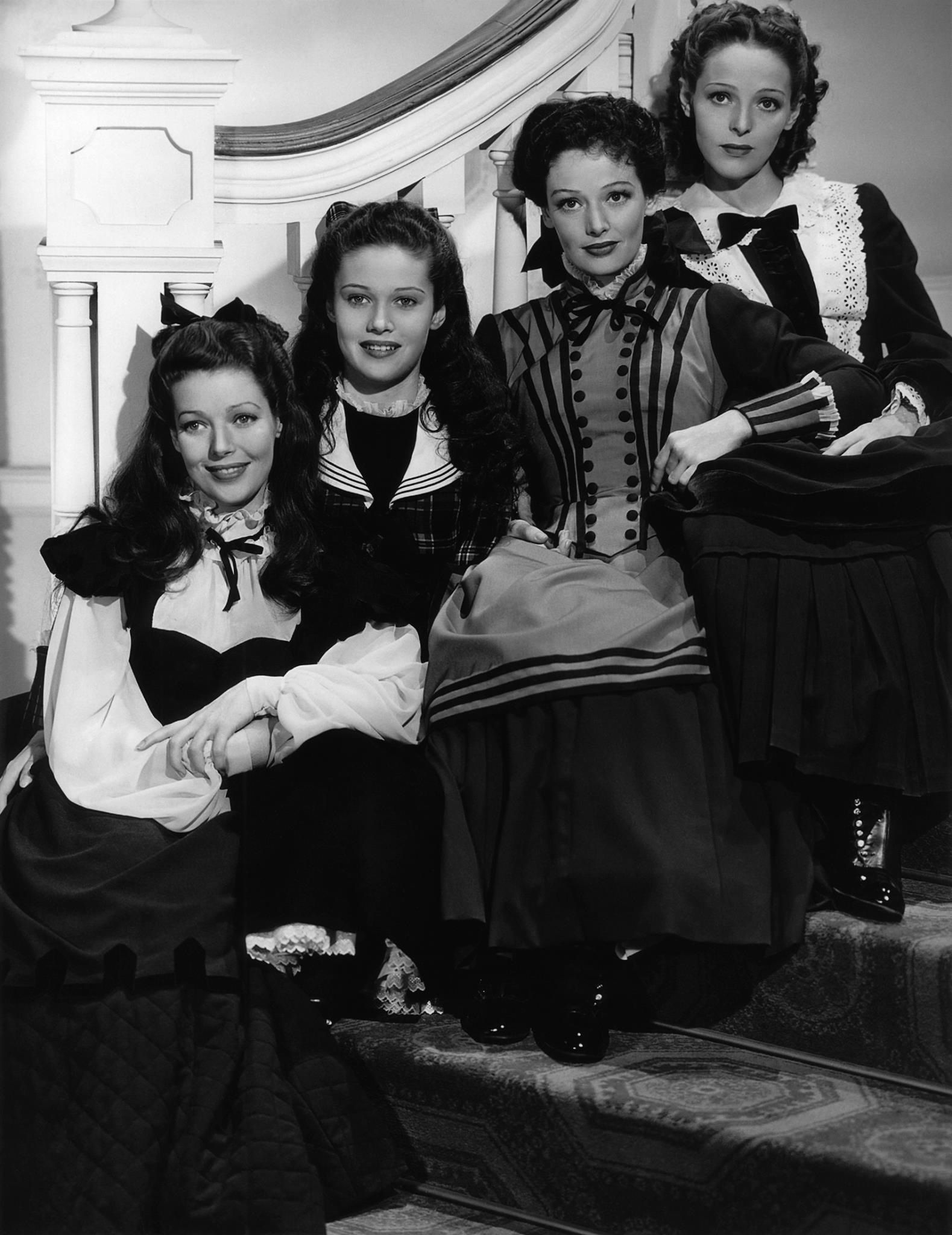 Loretta Young & sisters