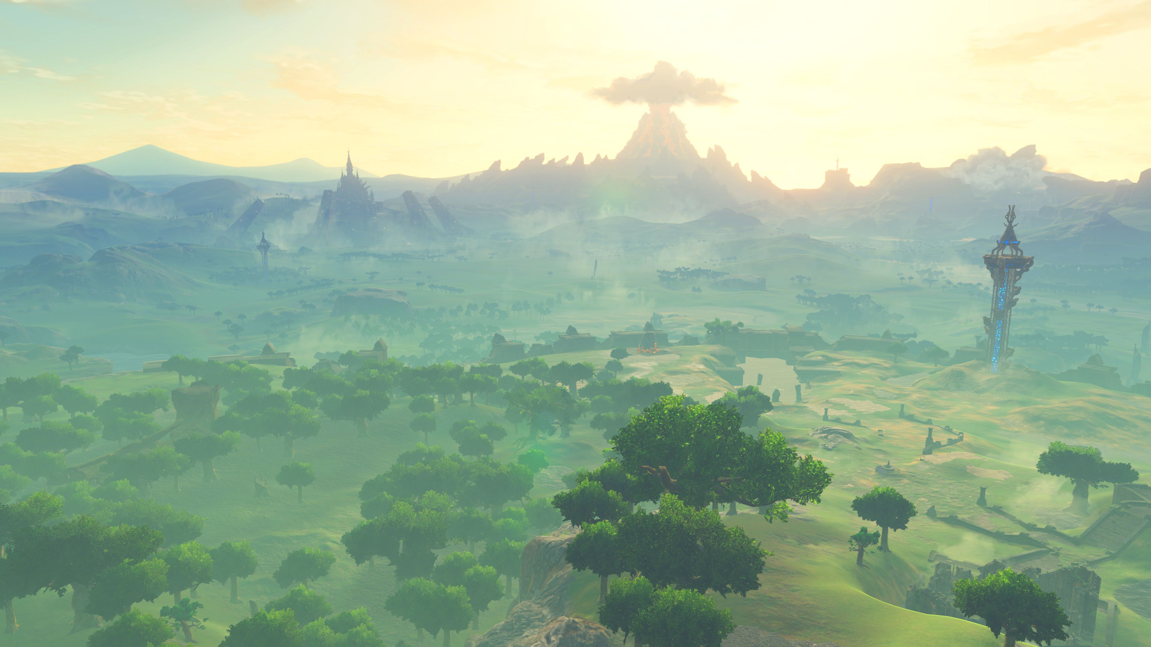 The Legend Of Zelda Breath Of The Wild Wallpaper Pack In 2020