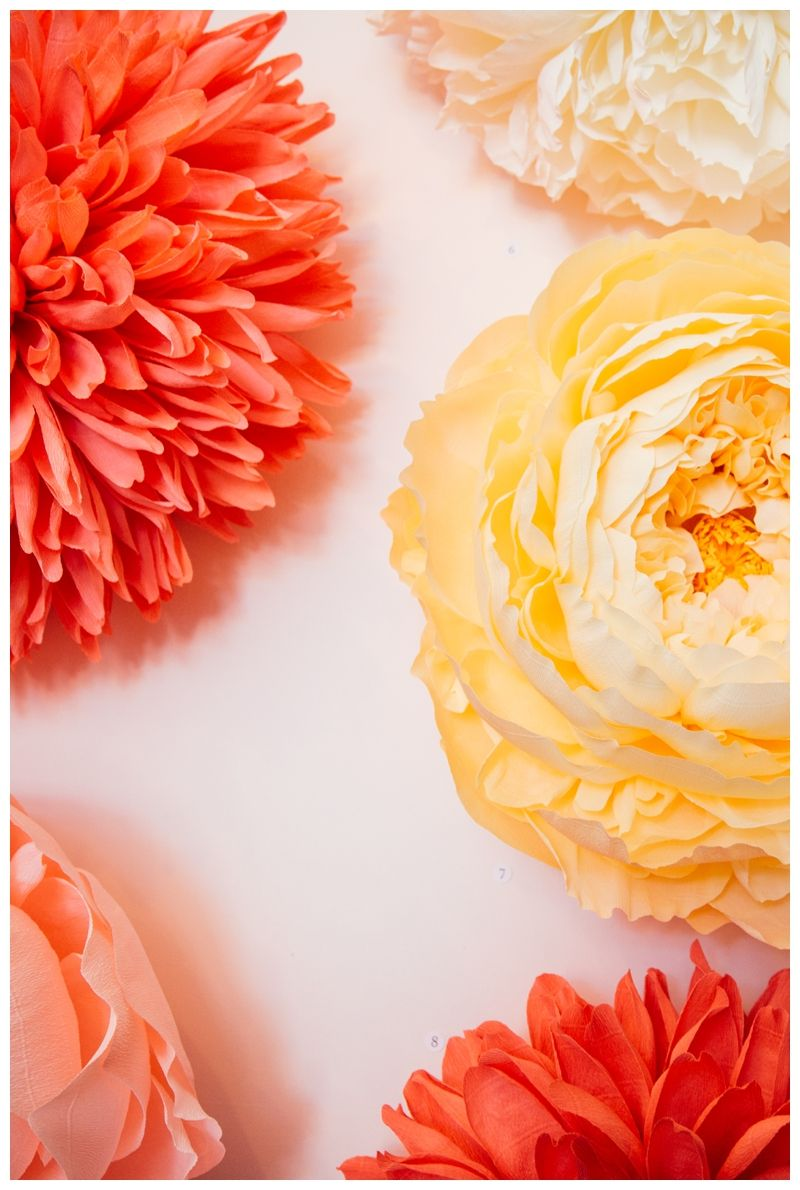 Tiffanie Turners Heads Exhibit Flowers Made Entirely Out Of Paper