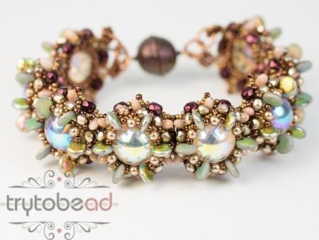Catelyn Bracelett Armband 2 Schmuck Perlen Häkeln Und Anleitungen