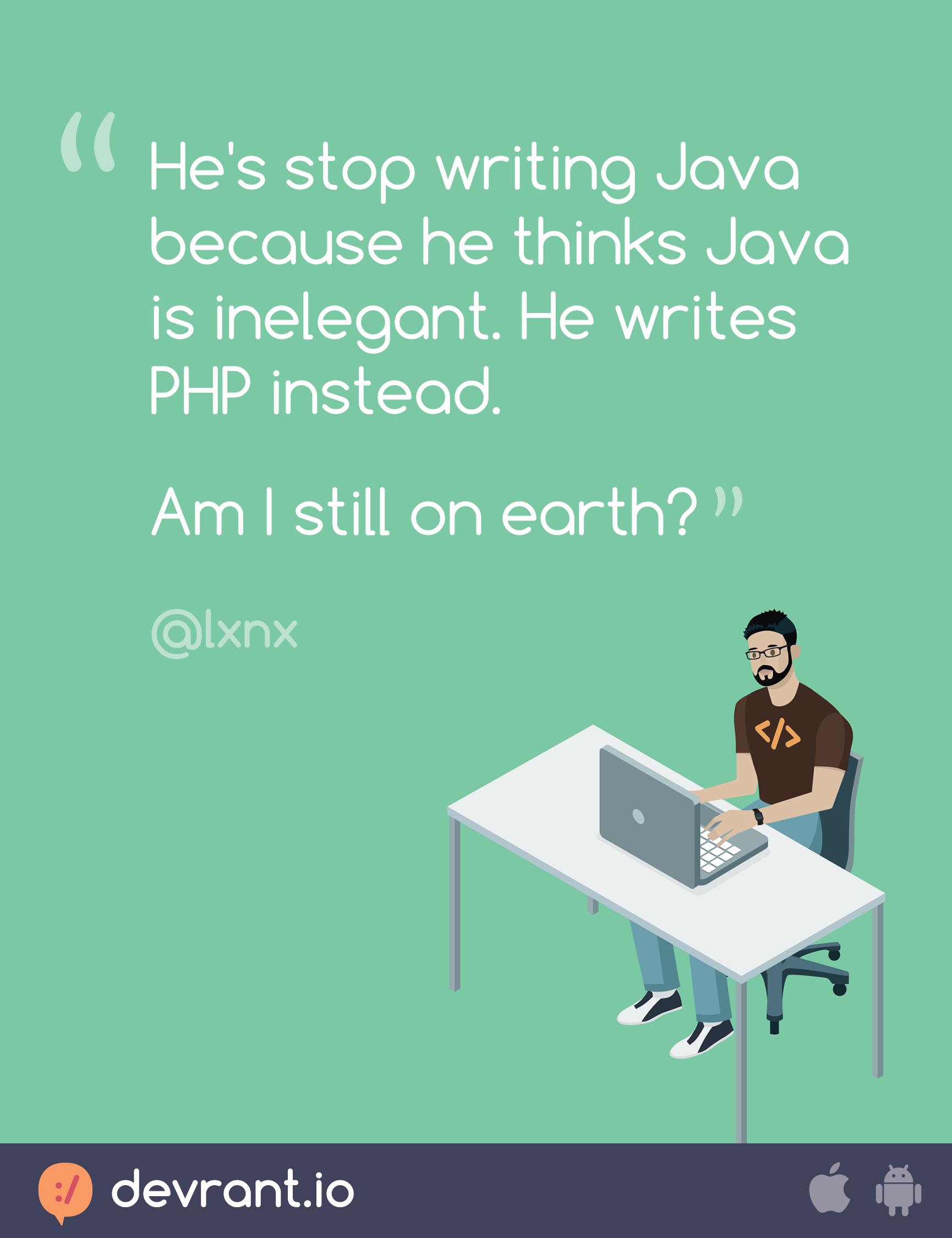 Some devs drink the crazy juice   Java   php   programming   coding ...