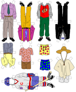 photograph about Printable Paper Dolls Clothes identified as free of charge printouts; paper dolls for boys and a great deal even more Paper