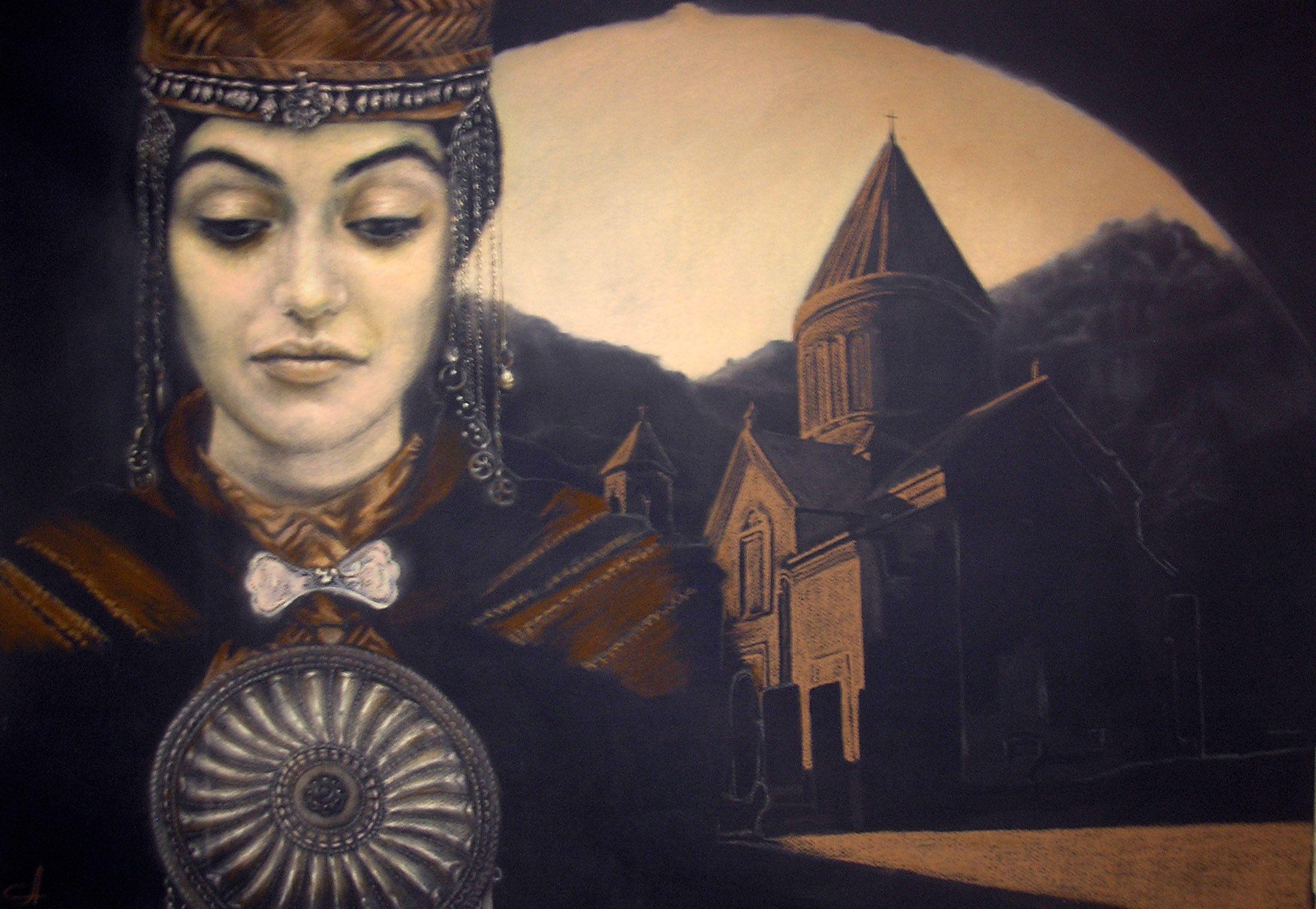 "Andrea Berg Oops Вечность"" из серии ""Моё сердце в горах"" Армения"