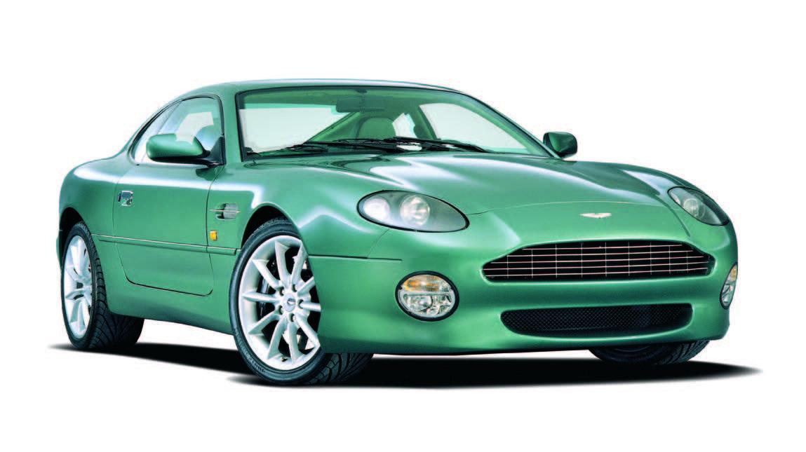 Aston Martin Heritage Past Models Aston Martin A Legendary
