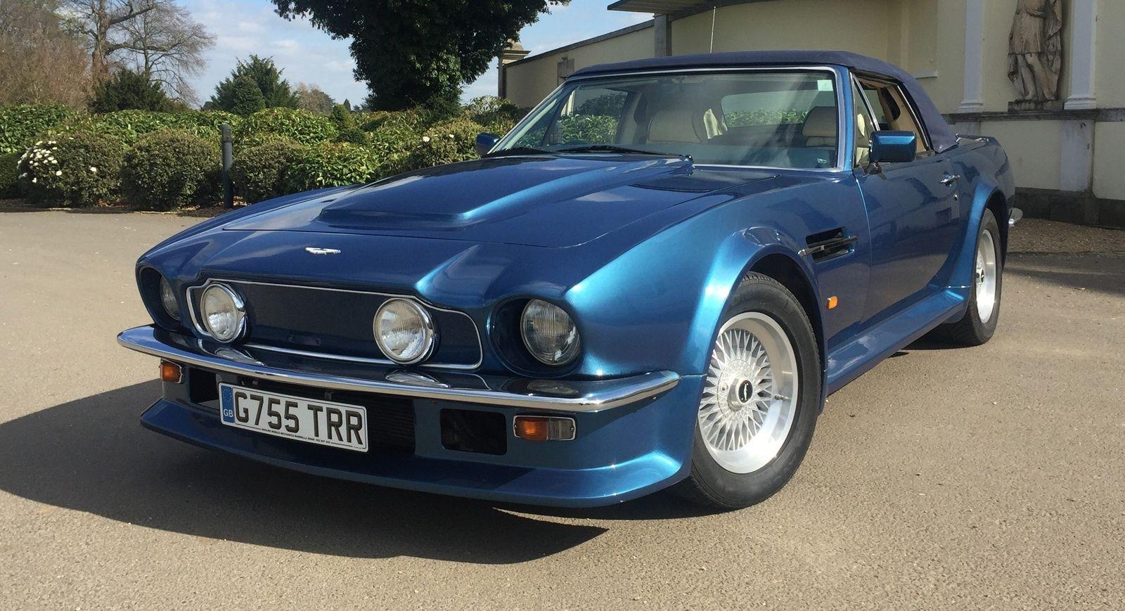 1989 Aston Martin V8 V8 Vantage Volante 580x Classic Driver Market Aston Martin V8 Aston Martin European Cars