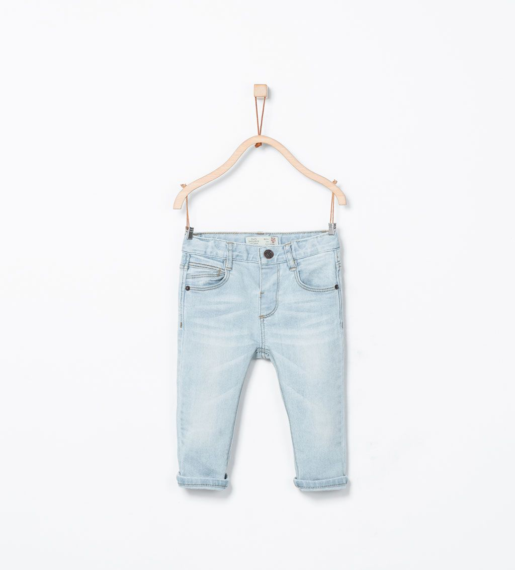 a2ae6aca0 Regular fit jeans-Trousers-Baby boy | 3 months - 3 years-KIDS-SALE | ZARA  United States