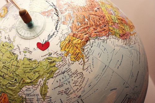 Follow your heart globes and travel pinterest globe and follow your heart gumiabroncs Images
