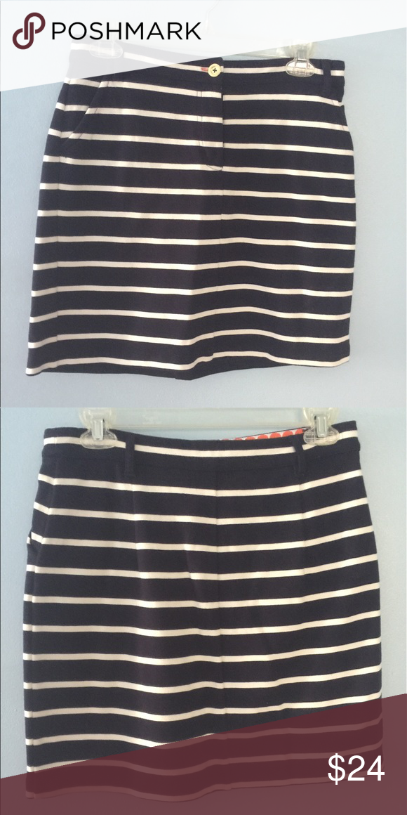Boden striped skirt Adorable Boden striped skirt! Super cute. Excellent condition just too small Boden Skirts Midi