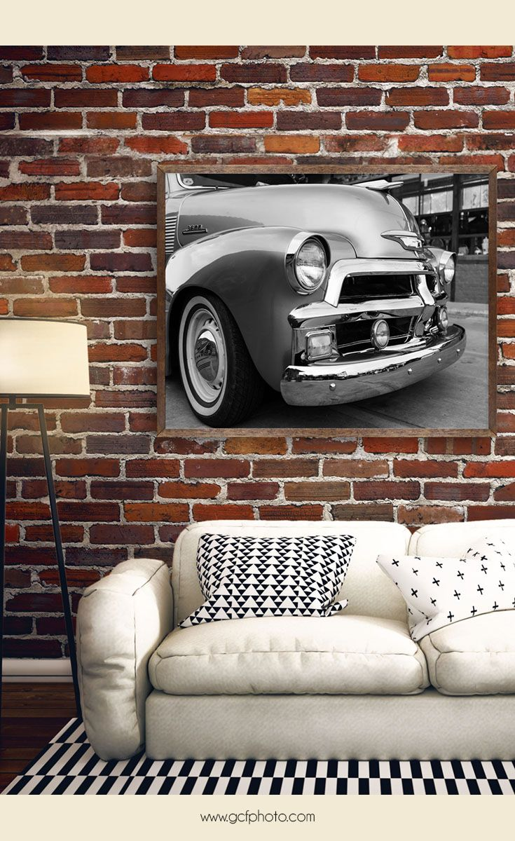Chevy 3600 Pickup Truck   Classic Car Photography Prints For Home Decor.  Click On The