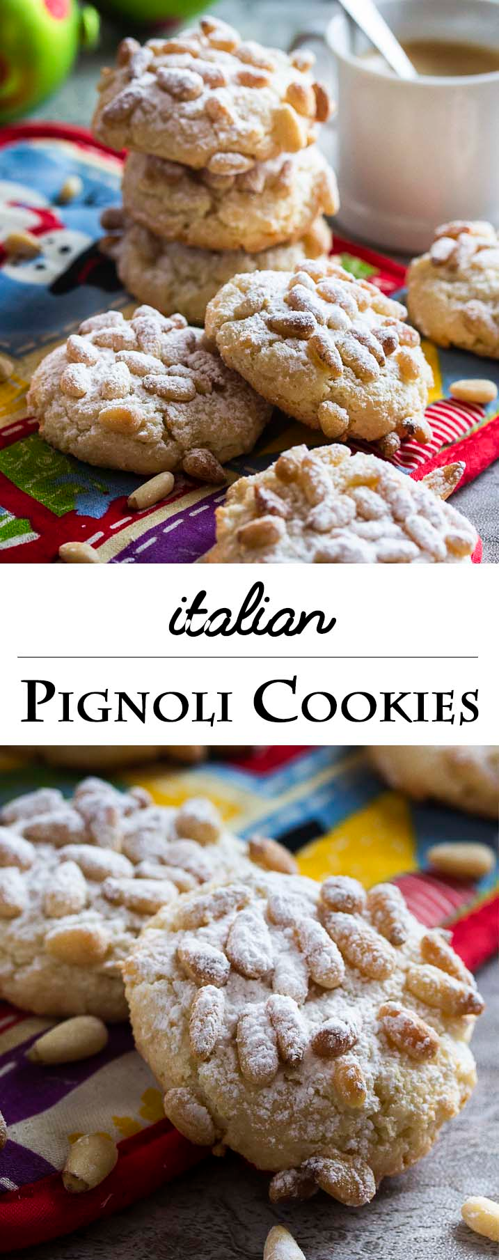 Lidia's Italian Pignoli Cookies - Just a Little Bit of Bacon
