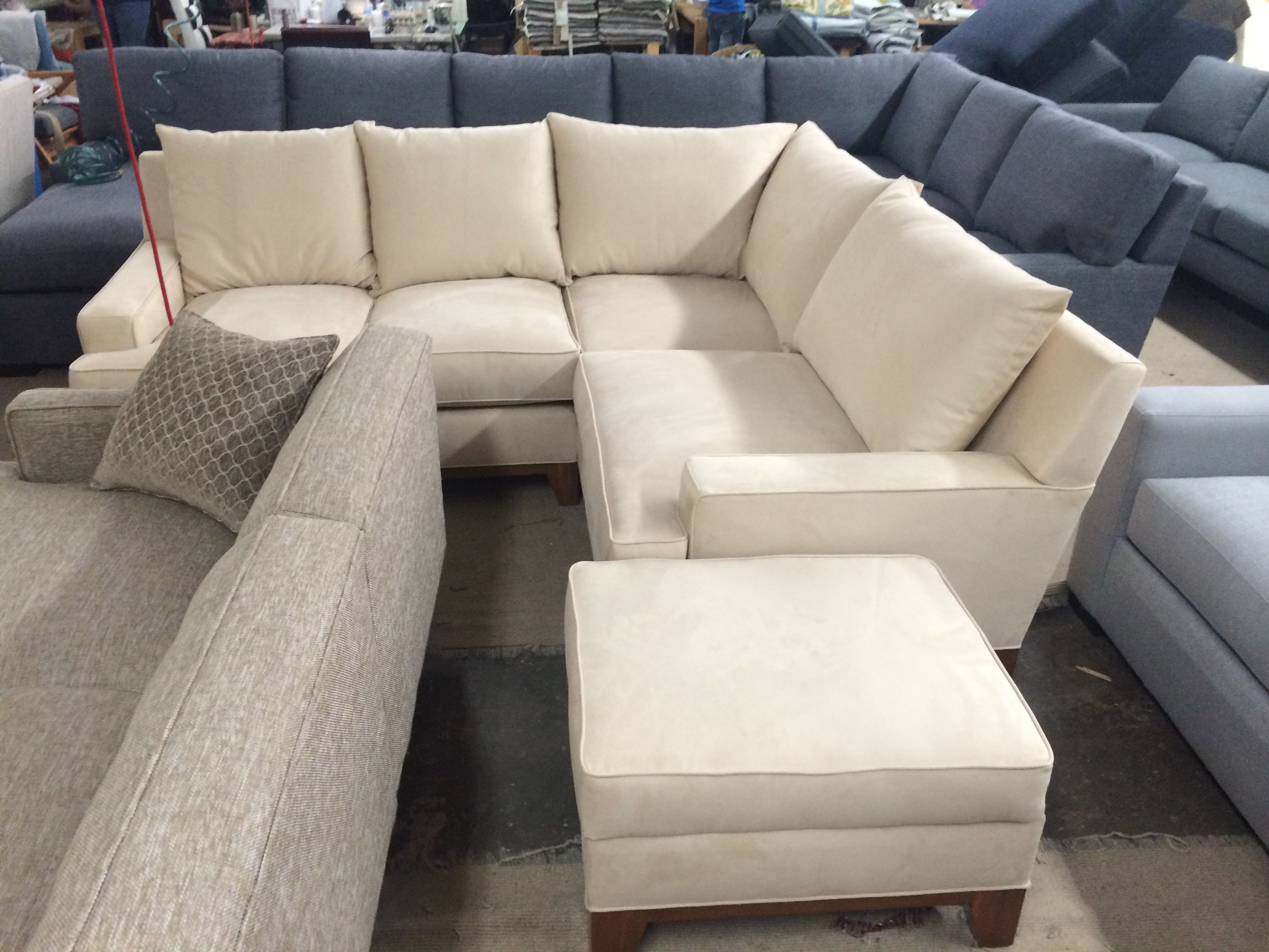 Janna Sectional & Ottoman  Every Style Can Be Customized