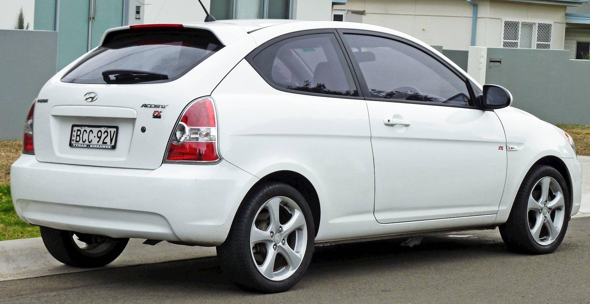 2021 Hyundai Accent Hatchback Picture