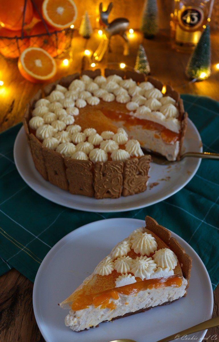Spekulatius Torte Mit Mandarinen No Bake Torten Pinterest