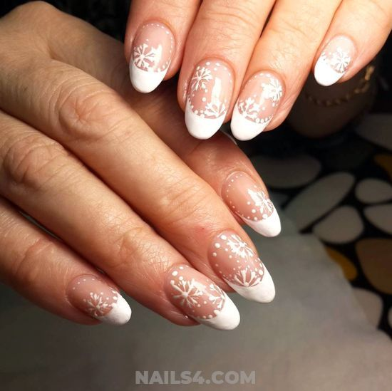 25 Beautiful French Nail Art Designs For You French Nail Designs