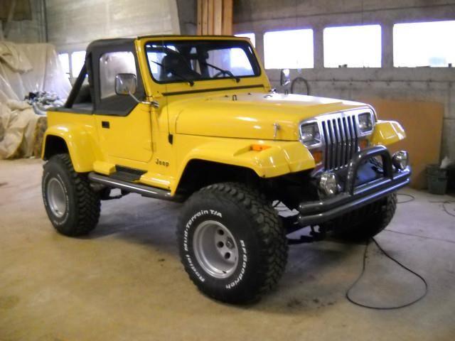 Jeep Wrangler 4 2 V6 Occasion A Vendre Autoscout24 Automobile Vehicule Voiture