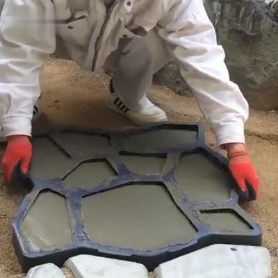 Details about  /Floor Pavement Concrete Molds Cement Mould DIY Garden Path Beton Brick Maker