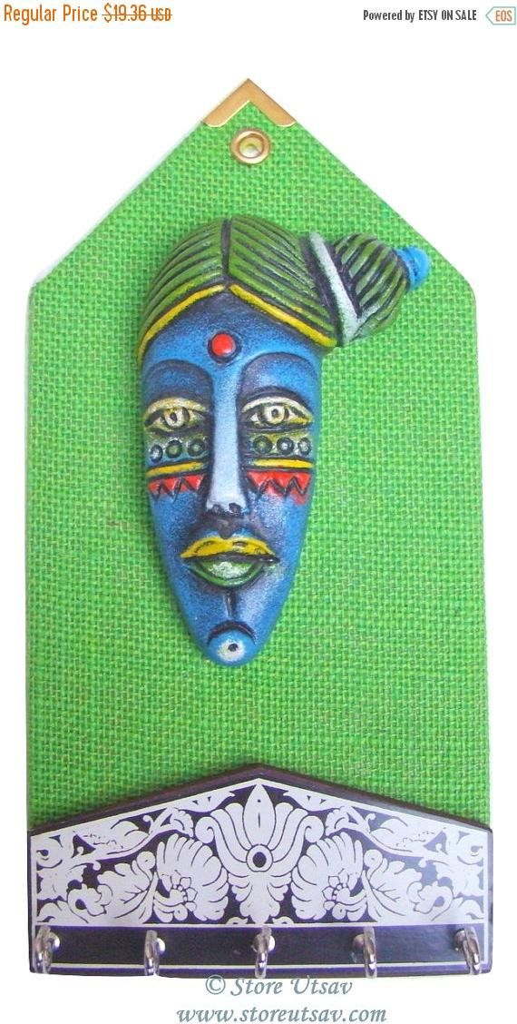 SALE 30 OFF Home Decor Wall Hanging Keys Peg Indian Handicraft