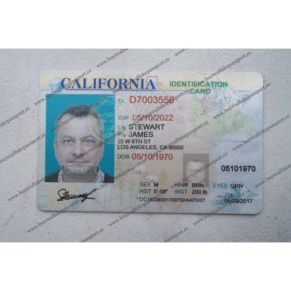 Buy Fake Us Id Buy Registered Us Id Card Buy Real Us Id Card Intended For Florida Id Card Template 10 Professional Temp Id Card Template Cards Card Template