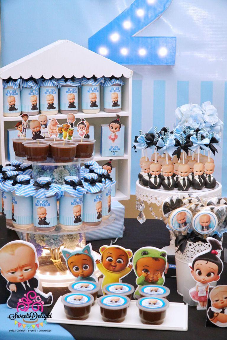 Boss Baby Dessert Table Sweets Delight Dessert Table