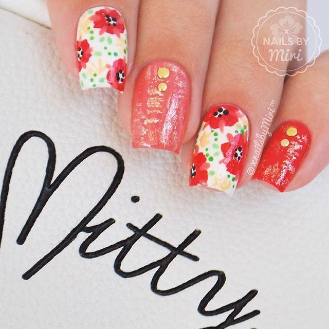 Pin de Hegar Jimenez en Uñas decoradas f | Pinterest | Uñas lindas y ...