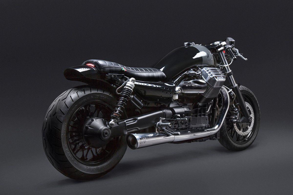 california dreaming: venier customs' new guzzi | moto guzzi, cafes