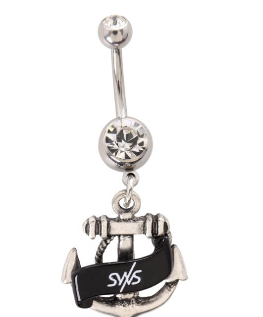 Belly Ring Button With Sleeping Sirens