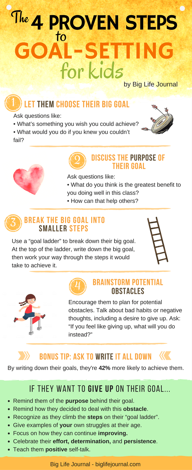 4 Steps for Helping Your Child Set Effective Goals (Plus a