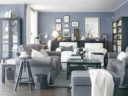 Three-seater Ektorp sofa £269, Ikea Basement Pinterest - ikea ektorp gra